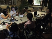 Discussion with PWDs took nearly 5 hours.